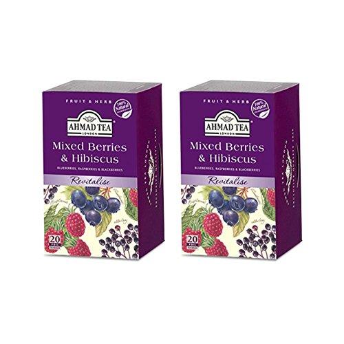 Ahmad Tea, Mixed Berries - 20 Tea bags (Pack of 2)