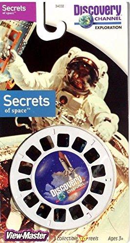 Secrets of Space View-Master 3 Reel Set - 21 3d Images