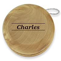 Dimension 9 Charles Classic Wood Yoyo with Laser Engraving