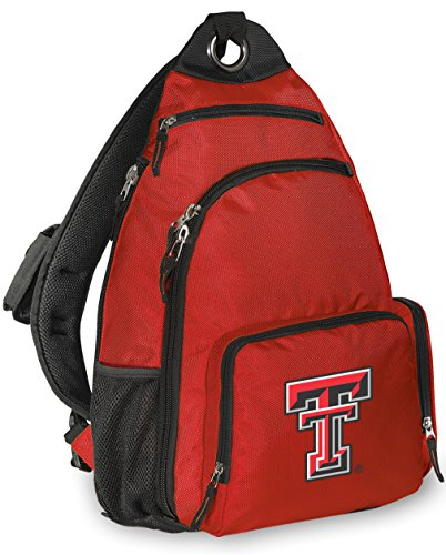 Texas Tech Single - Broad Bay Texas Tech Backpack Comfortable Texas Tech Red Raiders Single Strap Backpacks