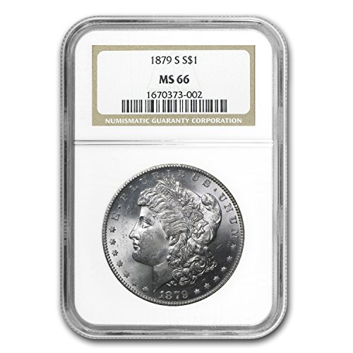 1879 S Morgan Dollar MS-66 NGC $1 MS-66 NGC