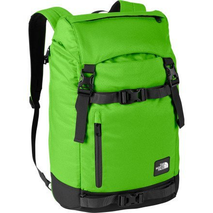The North Face Pre-Hab Backpack - Glo Green/Black [並行輸入品] B07F4RNXFR