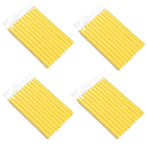 Valentines Day Gifts Foam Curler Roller Flex Rods Reusable Cable Ties/Wrap to Organize Cords Random Color Diamerter 1.6cm(4pack)