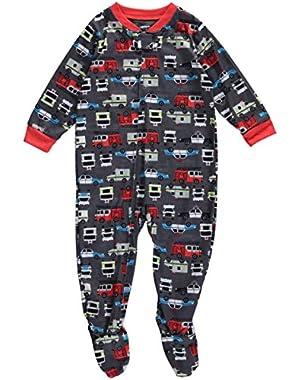 Carter's Baby Boys' Striped Footed Sleeper Pajamas