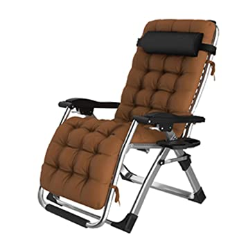 Amazon.com: LHNLY-Lounge Chairs Extra Wide Reclining Garden ...