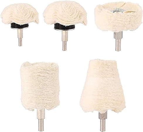 Soulitem - Juego de 6 Piezas de Almohadillas de algodón para pulir ...