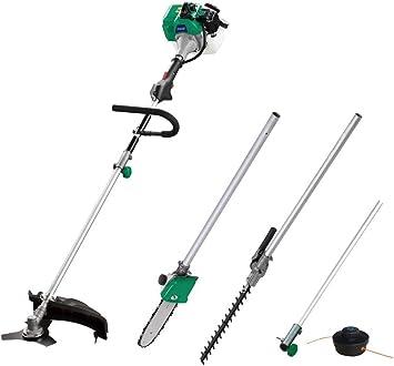 Gasolina de cortar Set de 4 en 1 C BFS Juego de 33 – Desbrozadora (/Trimmer + Cortasetos + rama de sierra de cadena – 1 KW/1,36 PS: Amazon.es: Bricolaje y herramientas