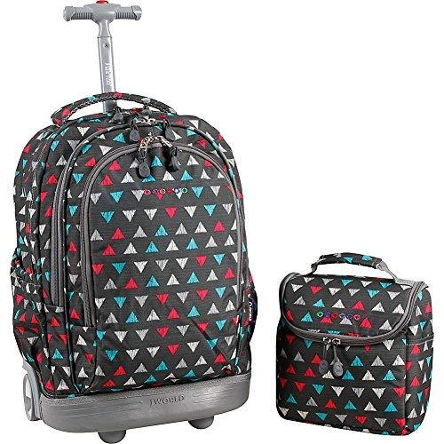- JWorld Setbeamer Rolling Backpack - Sprinkle