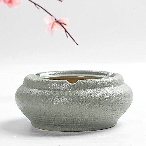 (SSBY _ Ceramic Ceramic Ashtray Ashtray Ashtray Business Club Ceramic Daffodil Trumpet Fish)