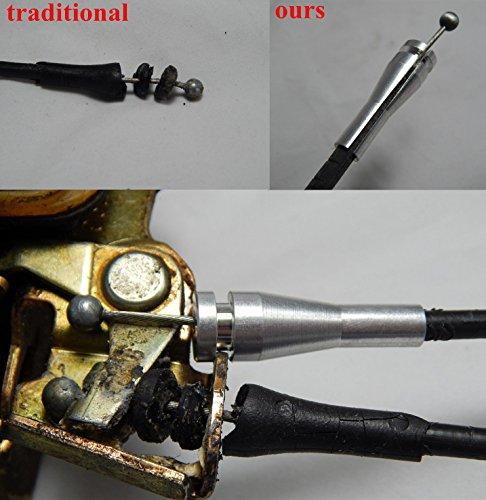 8 Pieces Vehicle Door Latch Lock Cable Repair Kit