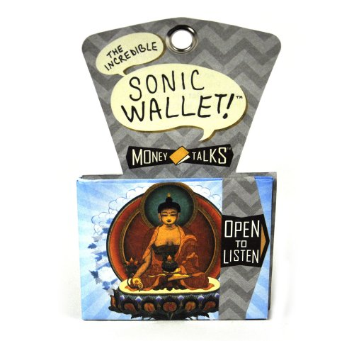 The Unemployed Philosophers Guild Sonic Wallets Buddha by The Unemployed Philosophers Guild