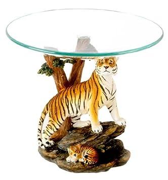 Bon Decorative Tiger U0026 Cub Ornament With Glass Bowl Top: Amazon.co.uk: Kitchen  U0026 Home