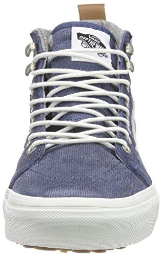 41b22958b8e069 delicate Vans Unisex Sk8-Hi MTE Blue Grey Sneaker - 6 - www ...