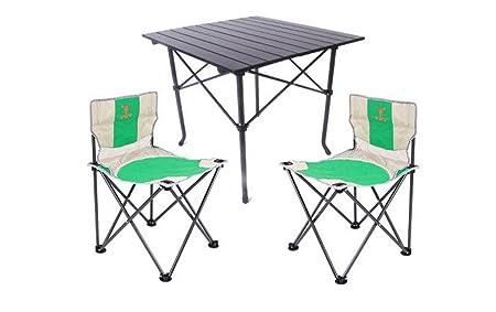 Mesa plegable Mesa y sillas plegables portátiles al aire libre ...