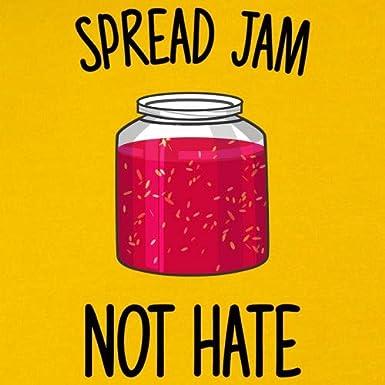 9 Colours Spread Jam Not Hate Kids Hoodie 1-13 Years