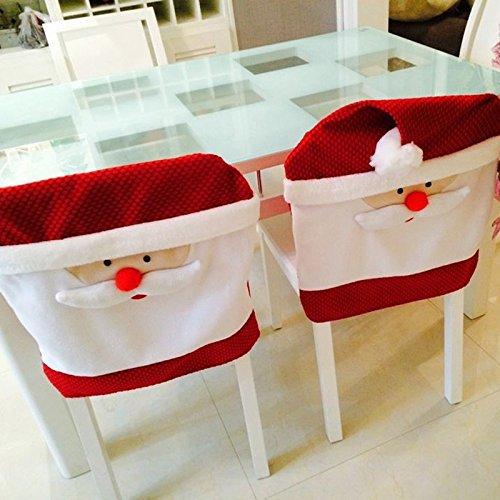 Indian Costume Face Paint Ideas (2015 Newest 65cmx50cm Christmas Kitchen Chair Covers Santa Claus Christmas Decoration Dinner Chair Decor)