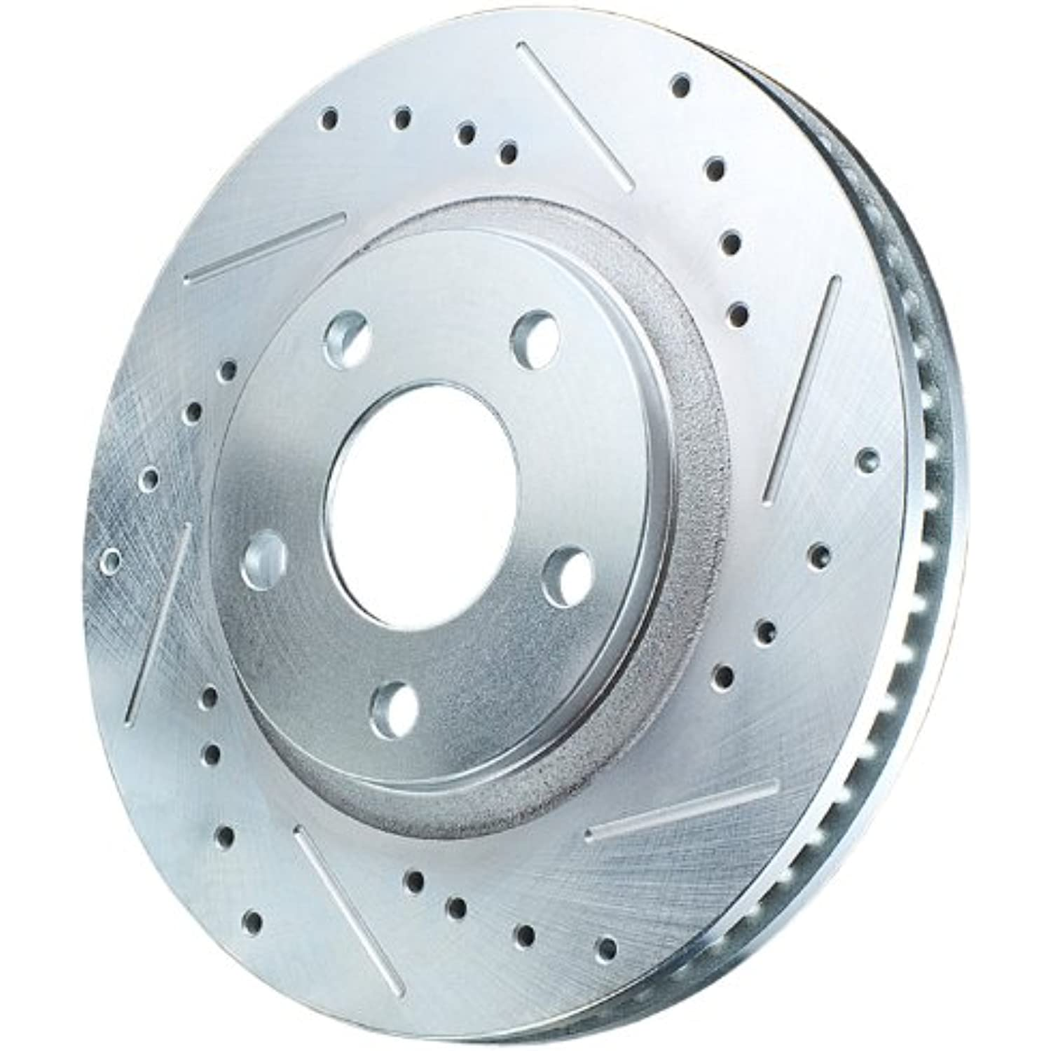 Power Stop JBR1171XR Power Stop Extreme Performance Drilled And Slotted Brake Rotors Front Right Power Stop Extreme Performance Drilled And Slotted Brake Rotors