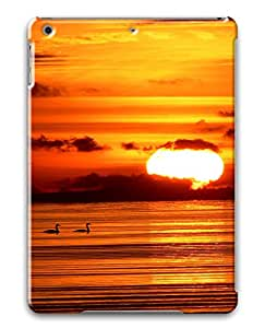 iPad Air Sunset at sea PC Custom iPad Air Case Cover Black