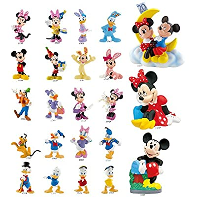 Bullyland Money Bank Mickey Action Figure: Toys & Games