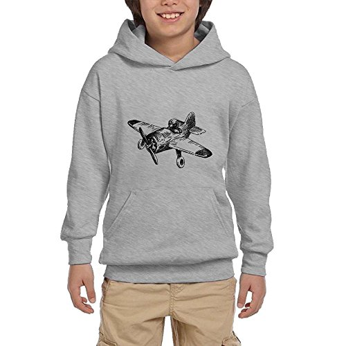 Airplane Youth Pullover Hoodies Fashion Pockets Sweaters hot sale
