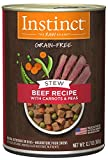 nature best dog food - Instinct Grain Free Stews Beef Recipe with Carrots & Peas Natural Wet Canned Dog Food by Nature's Variety, 12.7 oz. Cans (Case of 6)