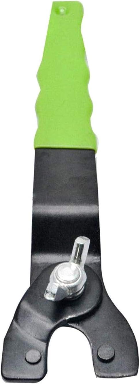 PRINDIY Mango de 190 mm Amoladora Angular Llave Ajustable Prendedor Y-Grinder Tipo Llave de pivotes Llave Grinder dominante con el pl/ástico para Amoladoras