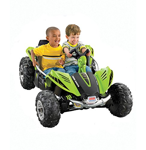Fisher-Price W2602 Power Wheels Dune Racer, Green