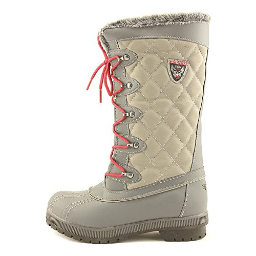 Sporto Womens Camille Round Toe Mid-Calf Cold Weather Boots Grey prKKtVK
