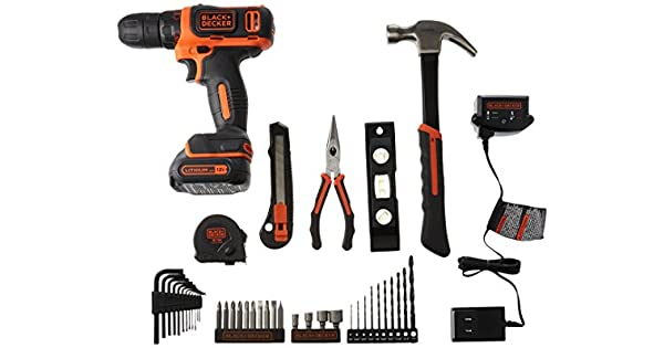 Amazon.com: Black + Decker - Kit de herramientas para ...