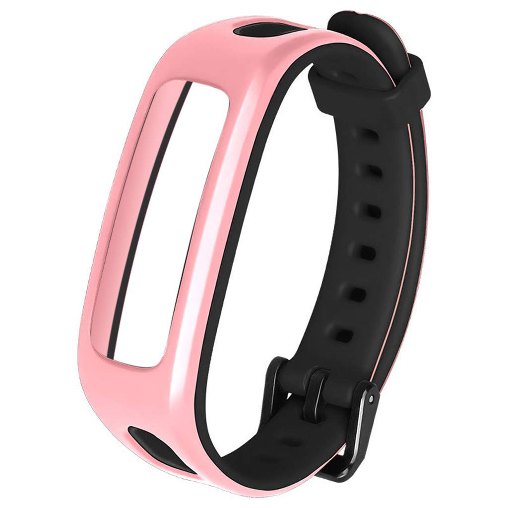 for Huawei Honor 4 Watch Band Bracelet Replacement Sport Silicone Strap Wirstband Bands for Huawei Honor 4 Smart Watch (A)
