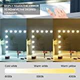 Hansong Large Bluetooth Vanity Makeup Mirror with