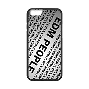 edm people iPhone 6 6s Plus 5.5 Inch Cell Phone Case Black Custom Made pp7gy_3328581