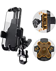 """WINDFRD Anti Vibration Motorcycle Phone Mount, Anti Shake Motorcycle Cell Phone Holder for iPhone, Samsung and More 4.7"""" - 7.1"""" Cellphone, Suitable for Motorcycle Handlebar and Harley Davidson"""