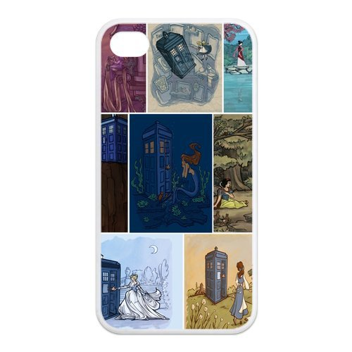 Fayruz- Doctor Who Protective Hard TPU Rubber Cover Case for iPhone 4 / 4S Phone Cases A-i4K171
