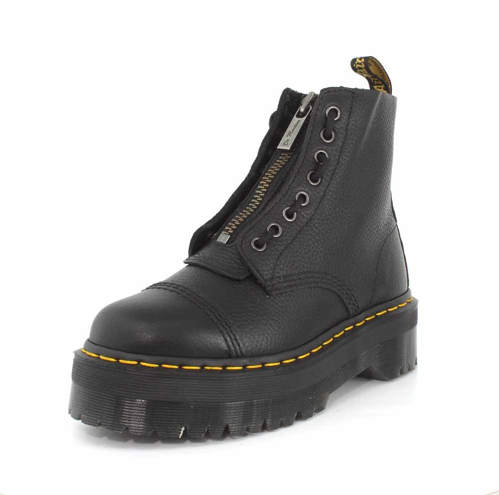 Dr.Martens Leather Boots Womens Sinclair 2928 Leather Boots Black 17b1e05 - robotanarchy.space