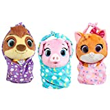Disney Jr T.O.T.S. Cuddle & Wrap Plush - Mia The