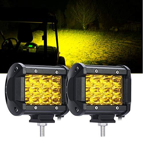 (Samlight Led Light Bar 2PCS 36w 4