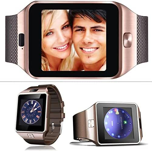 Etbotu Student Bluetooth Smart Fitness Watch Phone Wrist Watch With Camera LCD USB for many Smartphones