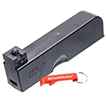 30rd Magazine for WELL VSR-10 MB02, MB03, MB07D, MB10D, MB11D, MB12D, MB13D Airsoft Bolt Action - AirsoftGoGo Keychain Included