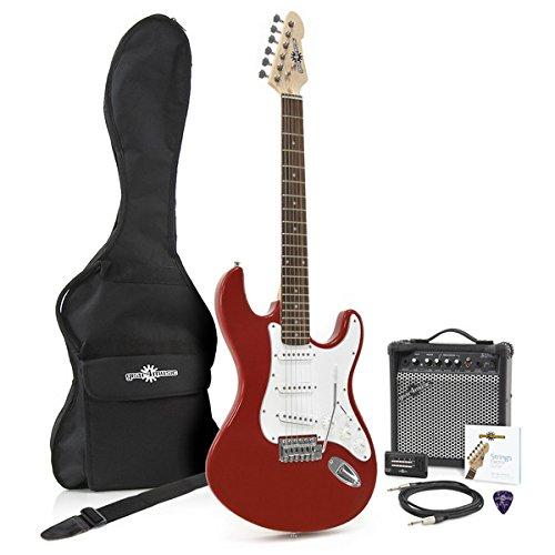 2 opinioni per Kit chitarra elettrica LA + Amplificatore Rossa