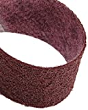 Scotch-Brite(TM) Surface Conditioning Belt, 3-1/2 Width x 15-1/2 Length, Medium, Maroon (Pack of 10)