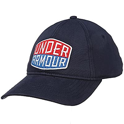 Under Armour Mens Patch Stretch Blue Cap by UNDER ARMOUR