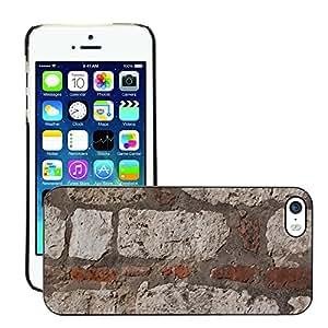Print Motif Coque de protection Case Cover // M00154731 La piedra caliza pared de ladrillo duro // Apple iPhone 5 5S 5G