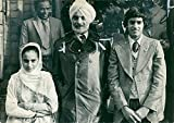 Vintage photo of Mr piara singh an indian farmer who found it was quite a promlem.