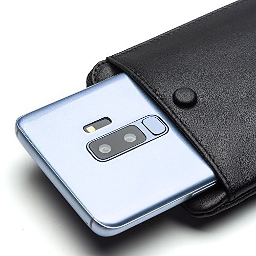 un sac texture noir S9 main véritable pour à Galaxy nbsp;pochette cuir Etui d'embrayage G965 en votre Samsung litchi 8PIqfwWv