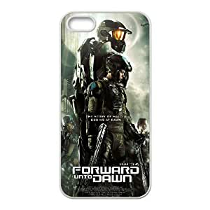 iphone5 5s Case (TPU), halo 4 forward unto dawn Cell phone case White for iphone5 5s - YYTT7891560