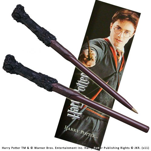 Harry Potter wand pen and bookmark set. (accesorio de disfraz) Indefinido NN8636 B004C410RC