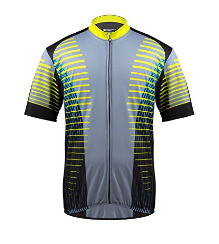 AERO|TECH|DESIGNS Big Man's El Grande Cycling Jersey - Made in The USA (3XL)