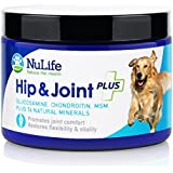 #1 Best Glucosamine for Dogs with Chondroitin MSM & Organic Coral Calcium - Natural Dog Supplements for Joints - Safe & Effective Arthritis Pain Relief for Dogs - Improves Mobility & Joint Health