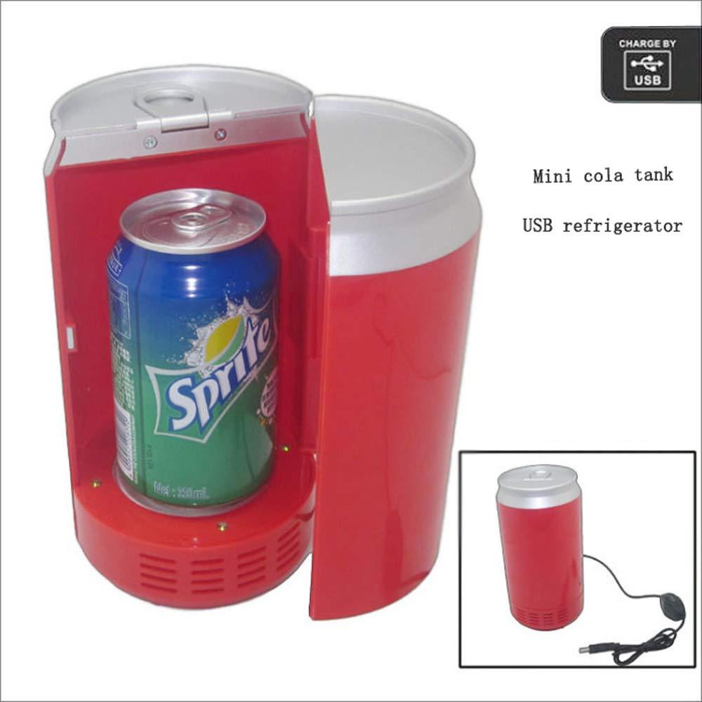 QWE Refrigerador De Cola USB, Refrigerador De Autos De Doble Uso ...